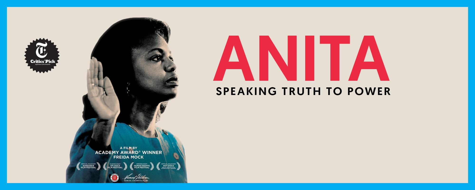 Anita Speaking Truth to Power