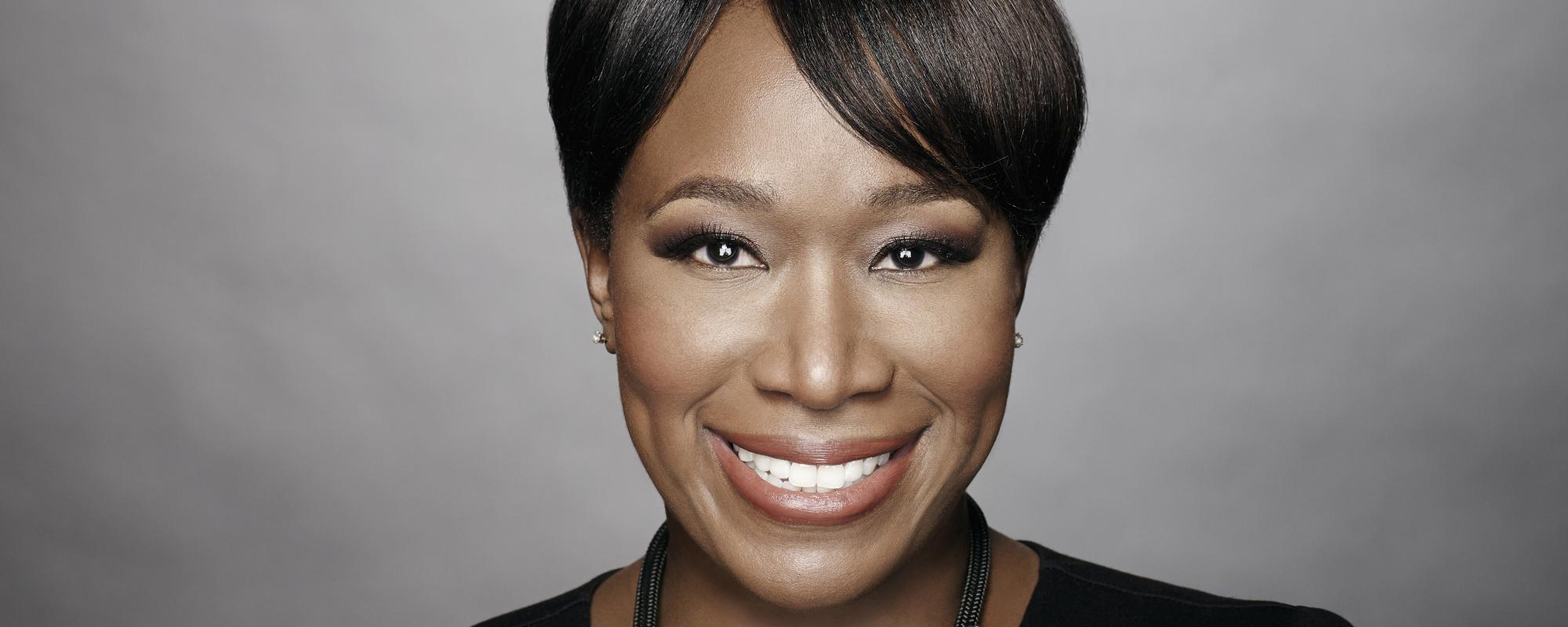 Joy Reid facing camera, smiling.