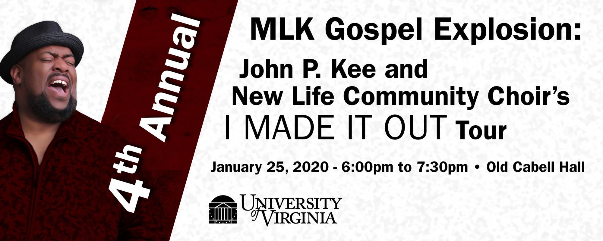 4th Annual MLK Gospel Explosion